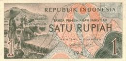 INDONESIA P.  78 1 R 1961 UNC - Indonésie