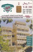 YEMEN(chip) - Hababa Village, Tirage 25000, 06/00, Used