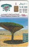 """YEMEN(chip) - O""""tomah, Tirage 70000, 06/00, Used"""