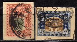 ESTLAND 1920 - Kriegsbeschädigte MiNr: 21+22 Used - Estland