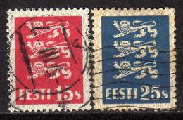 ESTLAND 1935 - MiNr: 106-107  Komplett Used - Estland