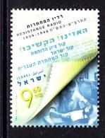 ISRAEL 2014 Resistance Radio (1939-1948) - Nuevos (sin Tab)
