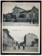 D  03 10 (ct CAPENDU) MARSEILLETTE La Mairie Les écoles, La Place - Unclassified