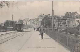 CPA Lausanne Le Grand Pont - Animée - VD Vaud