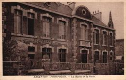 PORSPODER -29- LA MAIRIE ET LA POSTE - France
