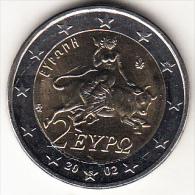 """GRECIA    2002   2 EUROS  TIPO  CON CECA """"S"""" FINLANDIA   NUEVA SIN CIRCULAR   CN4107 - Greece"""