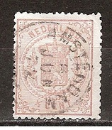 Nederland Netherlands Pays Bas Niederlande Holanda 13 CANCEL AMSTERDAM ; Wapenzegel 1889 - Periode 1852-1890 (Willem III)