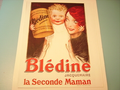 PUBLICITE BLEDINA La Seconde Maman - Posters