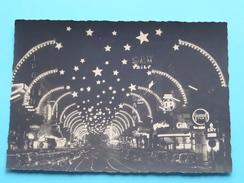 Les Feeries Lumineuses / De Kerstverlichtingen ( Blvd ANSPACH ) Anno 19?? ( Zie/voir Foto Voor Details ) !! - Brussel Bij Nacht