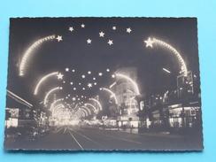 Les Feeries Lumineuses / De Kerstverlichtingen ( Blvd ANSPACH ) Anno 19?? ( Zie/voir Foto Voor Details ) !! - Bruxelles La Nuit