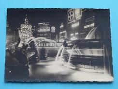 Les Feeries Lumineuses / De Kerstverlichtingen ( Blvd ANSPACH Fontaine ) Anno 19?? ( Zie/voir Foto Voor Details ) !! - Bruxelles La Nuit
