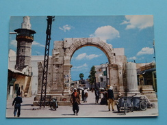 DAMASCUS Stright Street E Roman Arch ( Chahinian ) Anno 19?? ( Zie/voir Foto Voor Details ) !! - Syrie