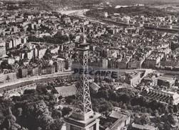 PHOTO AERIENNE RARE,PAR LAPIE SERVICE AERIEN,AOUT 1959,RHONE,LYON,LA CROIX ROUSSE,FOURVIERE,TOUR METALLIQUE - Places