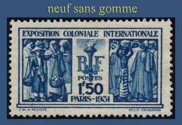 N° 274 EXPOSITION COLONIALE INTERNATIONALE PARIS 1930-31 - NEUF SANS GOMME - - France
