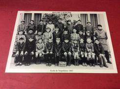 88 BAN DE LAVELINE Ecole De Verpellieres.  En 1967         5/1/17 - Francia