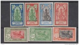 Inde N° 92 / 96 XX Partie De Série : Timbre  Dieu Brahma Ou Temple: Les 7 Valeurs Sans Charnière, TB