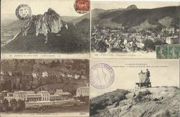 LOT DE 81 CARTES POSTALES ANCIENNES DE LE MONT DORE (PUY-DE-DÔME). - Le Mont Dore