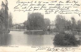 Vivoin (Sarthe) - Vue Sur La Sarthe - Phototypie J. Bouveret, Le Mans - Carte Précurseur - Other Municipalities