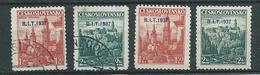 Tschechoslowakei 1937  Mi 382 Und 383  Tagung Des Internationalen Arbeitsamtes In Prag * Mit Falz Und Gestempelt - Used Stamps
