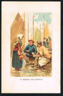 PECHE - Le Déjeuner Des Pêcheurs - Illustration   Scans Recto Verso--  PRIX NET - Fischerei