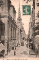 75 PARIS LA RUE SAINT LOUIS EN L'ILE - Non Classés
