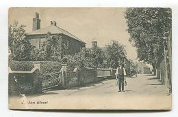 Ickham, Kent - The Street From Outside Fern Cottage? - 1905 Used Postcard - England