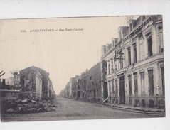 ARMENTIERES GUERRE 14_18 RUE SADI_CARNOT - Armentieres