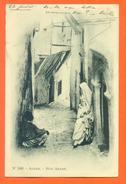 "CPA Alger "" Rue Arabe "" Carte Precurseur  - LJCP 19 - Algeri"