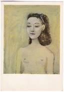 CP552 Peinture PICASSO Portrait De Nush Eluard Painting Portrait Of Nush Eluard Art Postcard - Pintura & Cuadros