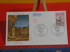 FDC > 1970-1979 > Europa CEPT - Paris - 14.4.1973 - 1er Jour. Coté 1,50 € - Europa-CEPT