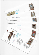 Enveloppes  1er Jour FDC 2006  6 Enveloppes Les Opéra De Mozart - 2000-2009