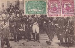 Carte Postale République Dominicaine Santo Domingo Napoléon Bonaparte Adieux De Fontainebleau - Dominicaanse Republiek
