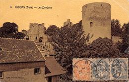 GISORS (EURE).- LES DONJONS - Haute-Normandie