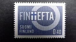 Finnland 619 **/mnh, Finnland Assoziiertes Mitglied Der EFTA (FINEFTA)