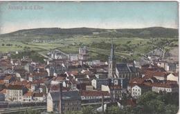 Alte Ansichtskarte Aus Aussig (Usti Nad Labem) -Blick Auf Die Stadt- - Eupen Und Malmedy