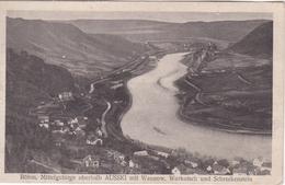Alte Ansichtskarte Aus Der Nähe Von  Aussig (Usti Nad Labem) -mit Wannonw, Workotsch Und Schreckenstein- - Eupen Und Malmedy
