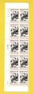 CENTENAIRE DE LA NAISSANCE D' ALAIN FOURNIER  -  Bas De Feuille De 10 TP à 2,20 F - 1986 - - Blocs & Feuillets