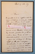 L.A.S 1869 Amable RICARD - Niort - Député Des Deux-Sèvres 79 - La Rochelle - Ministre De L'intérieur - Lettre Autographe - Autografi
