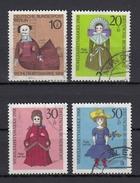 BRD 1968 - Alte Puppen - Kompletter Satz Gestempelt - Puppen