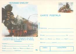 Romania 03   Lokomotiv CFR Nr. 43  Calugareni (tip  1B-n2)  1869 Canada Works & Th. Brassey  Cod  117/95 - Roumanie