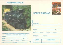 Romania 03   Lokomotiv CFR 764.455 1956 Resita  Bahnstrecke Covasna-comandau Cod  128/95 - Roemenië