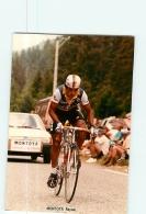 Reynel MONTOYA  . 2 Scans. Lire Descriptif.  Cyclisme. Café De Colombia - Radsport