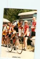 Carlos JARAMILLO . 2 Scans. Lire Descriptif.  Cyclisme. Café De Colombia - Radsport