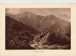 HAUTE-CORSE, LE MONTE D'ORO, Planche Densité = 200g, Format: 20 X 29 Cm, (A. Tomasi) - Documents Historiques