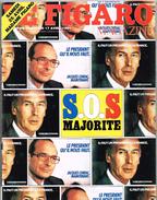 FIGARO MAGAZINE 17 Avril 1981 KRISHNA - ÉLECTIONS - SANTÉ - General Issues