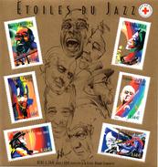France.bloc No 50 De 2002.grands Interpretes Du Jazz.n**. - Blocchi & Foglietti