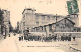 92 - HAUTS DE SEINE / Asnières - Groupe Scolaire De La Rue Chanzy - Beau Cliché Animé - Asnieres Sur Seine