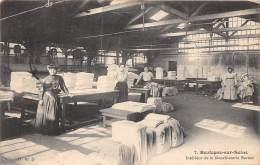 92 - HAUTS DE SEINE / Boulogne - Intérieur De La Blanchisserie Bernot - Beau Cliché Animé - Boulogne Billancourt