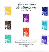 France.bloc No 44 De 2002.les Couleurs De Marianne.n**. - Sheetlets