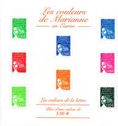 France.bloc No 45 De 2002.les Couleurs De Marianne.n**. - Nuovi